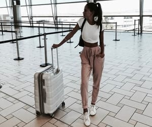 travel, girl, and fashion image