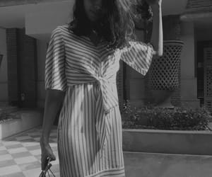 black and white, charles and keith, and H&M image
