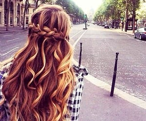 braided hair, madeleine, and france image