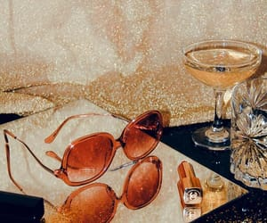 drinks, eyewear, and sparkle image