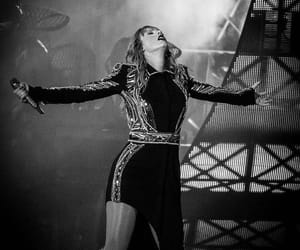 black and white, Reputation, and Taylor Swift image