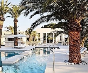 france, pool, and cote d'azur image