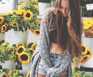 estate, girasoli, and fiori image