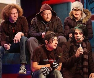 mcr, my chemical romance, and frank iero image