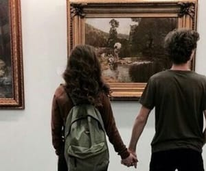 couple and painting image