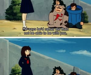 anime, cartoon, and quote image