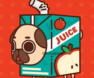 animal, apple, and chien image
