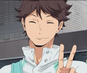 haikyuu and oikawa image