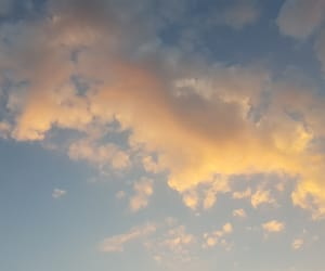 beautiful, blue, and cloud image