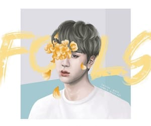 jin, bts, and fools image