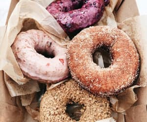 desert, donuts, and food image