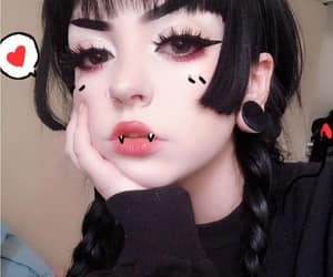 aesthetic, Devil, and goth image