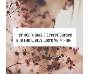 english, garden, and heart image