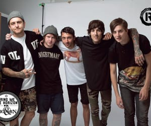 bmth, lee malia, and bring me the horizon image