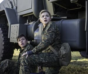 the 5th wave, chloe grace moretz, and nick robinson image