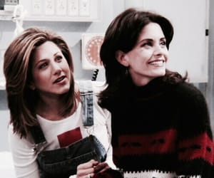 friends, monica geller, and rachel green image