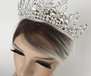 etsy, bridal tiara, and tiaras image