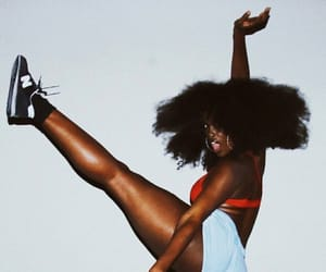 Afro, instagram, and black women image