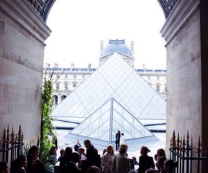 event, fashion, and louvre image