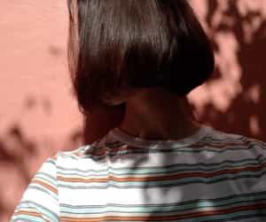 androgynous, asian, and haircut image