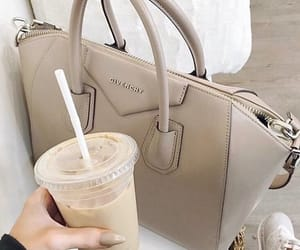 bag, Givenchy, and coffee image