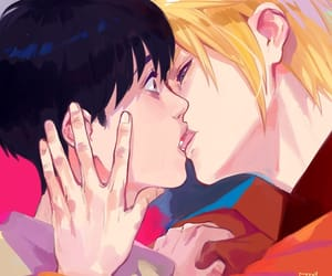 fan art, i love this, and banana fish image