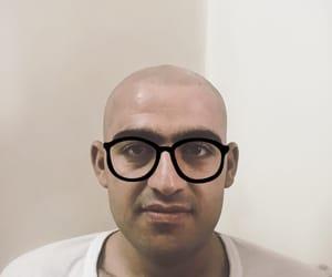 bald, ridiculous, and bald man image
