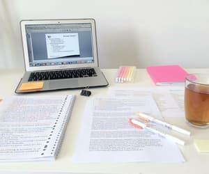 study, studying, and tea image