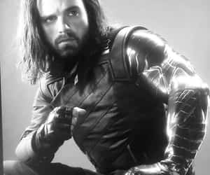 black and white, bucky, and Hot image