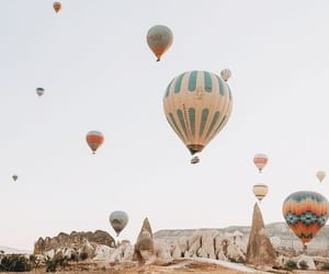 air, balloon, and Flying image