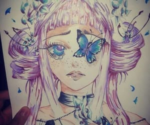 arts, colorful, and drawings image