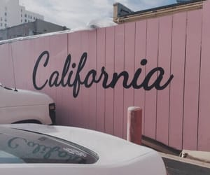 california, pink, and aesthetic image