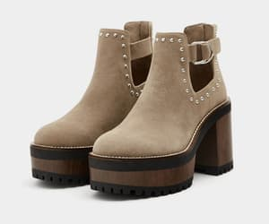 boots, brown, and studs image