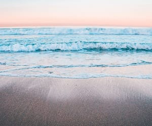 aesthetic, beach, and ocean image