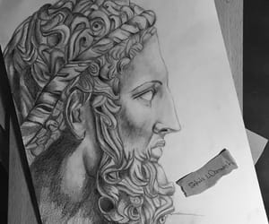 art, black and white, and pencil image
