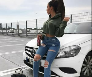 car, fashion, and outfit image