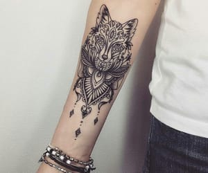 tattoo, animal, and ink image