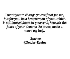 be brave, be yourself, and changes image