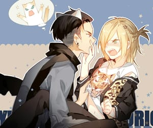 anime, yuri plisetsky, and bl image