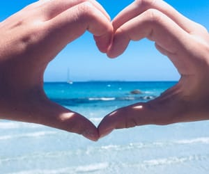 friend, heart, and Sardinia image
