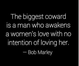 bob marley, coward, and quote image