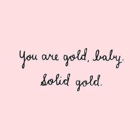 quotes, gold, and pink image
