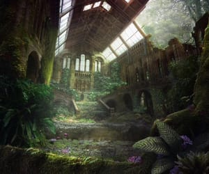 abandoned, fascinating, and castle image