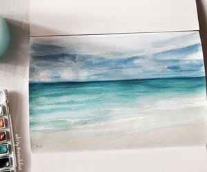 art drawings, watercolor paint, and tumblr inspiration image