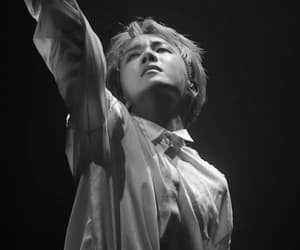 black&white, dancer, and kpop image