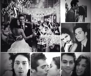 selena gomez, dylan o'brien, and teen wolf image