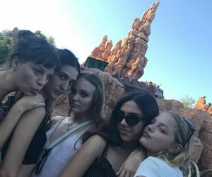 teens, lily rose depp, and amelia kring image