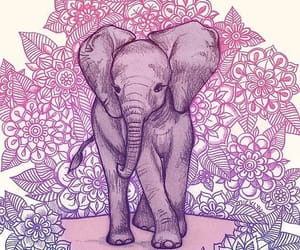 elephant, wallpaper, and art image