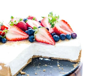 cake, cheesecake, and dessert image