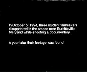 gif, the blair witch project, and 90's movies image
